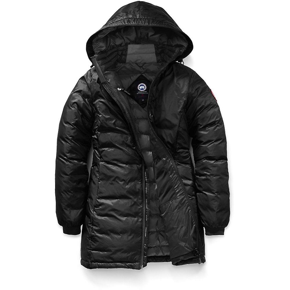 799e5066d3a Outlet Canada Goose Women's Camp Hooded Jacket – Black Canada Goose ...
